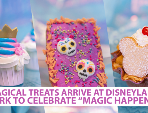 "Magical Treats Arrive at Disneyland Park to Celebrate ""Magic Happens"""