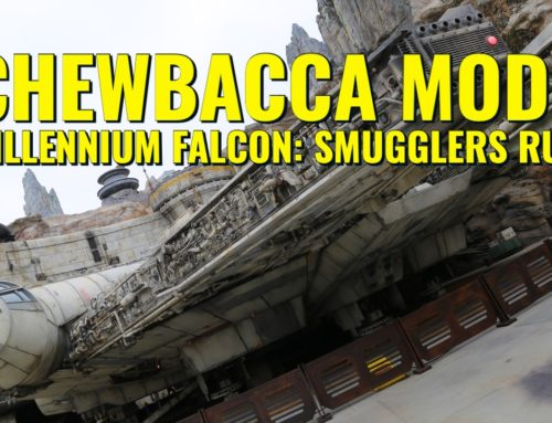 "Check Out ""Chewbacca Mode"" on Millennium Falcon: Smugglers Run!"