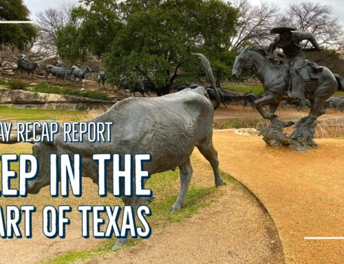 Sunday Recap Report – Deep in the Heart of Texas