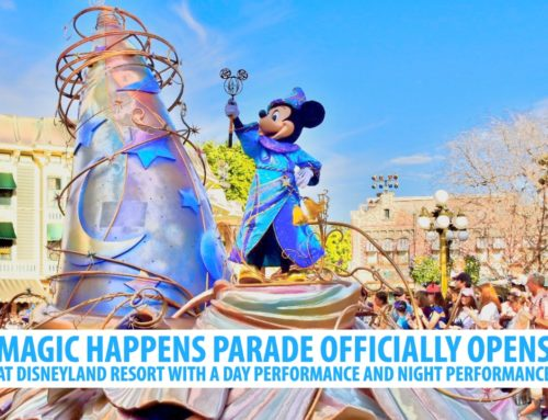 Magic Happens Parade Officially Opens at Disneyland Resort with a Day Performance and Night Performance