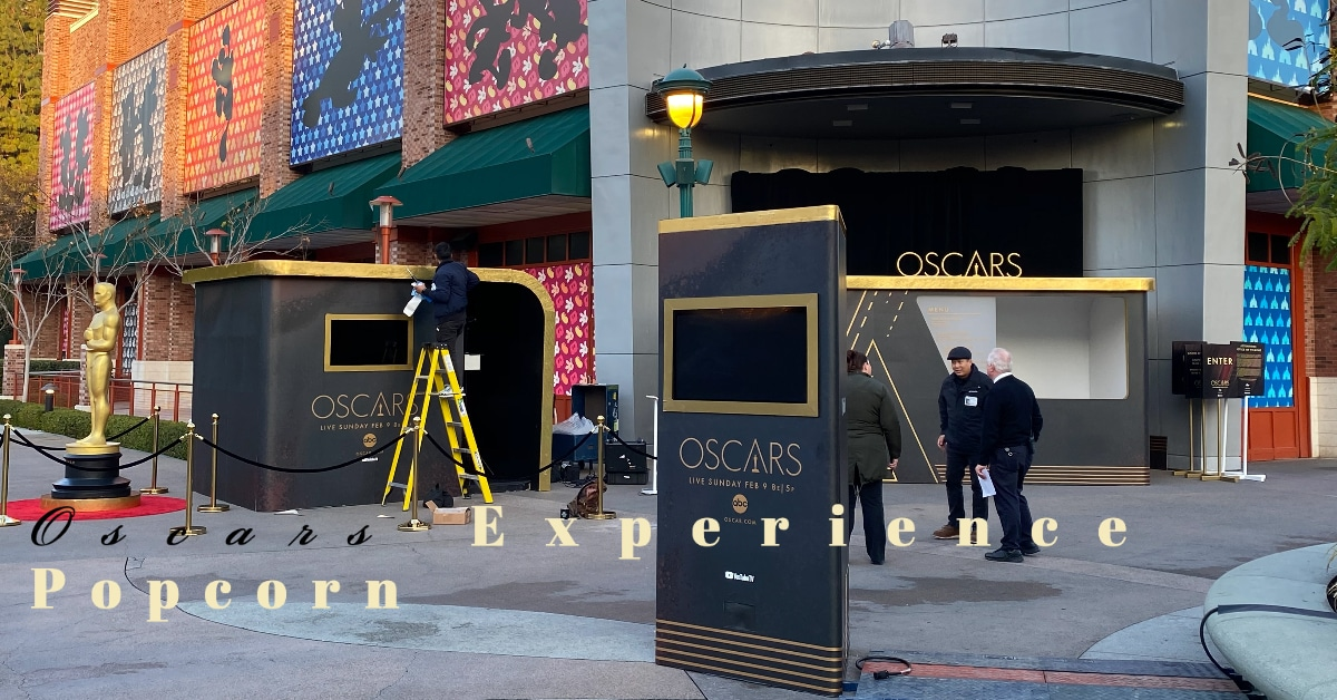 Downtown Disney District Gets Red Carpet Treatment with Oscars-Inspired Popcorn