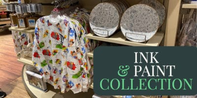 Ink & Paint Collection Comes to World of Disney at Disneyland Resort