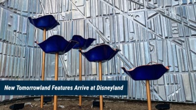 New Features Appear at Disneyland's Tomorrowland Entrance Connects Back to the Past