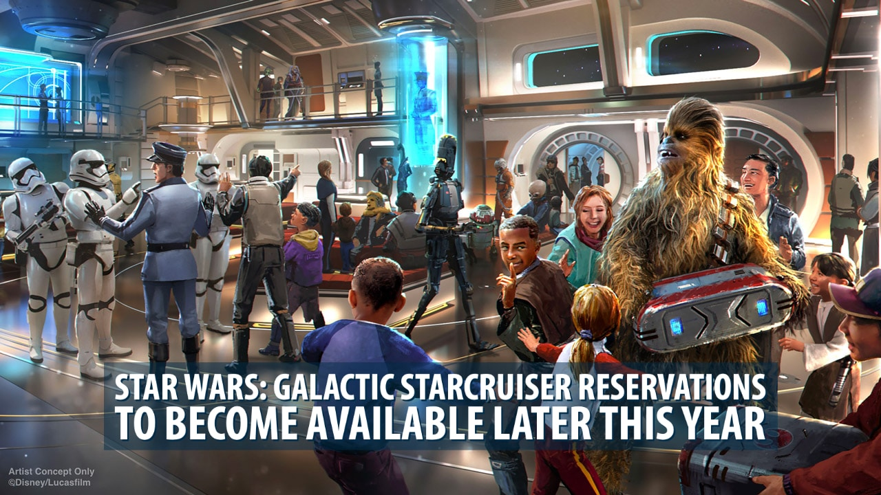 Star Wars: Galactic Starcruiser Reservations to Become Available Later This Year