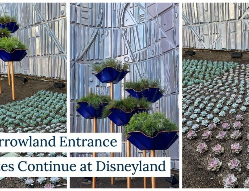 Tomorrowland Entrance Updates Continue at Disneyland