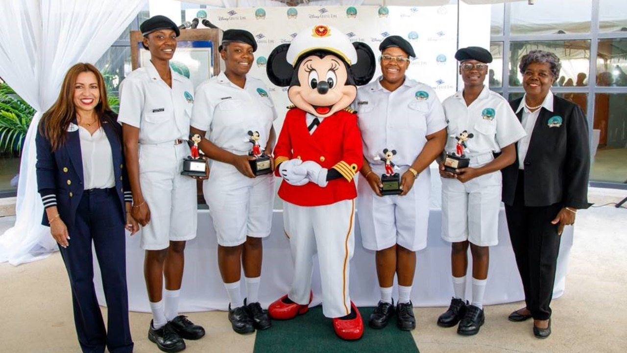 Disney Cruise Line Awards Scholarships to Four Bahamian Female Cadets Pursuing Dreams of Becoming Shipboard Leaders