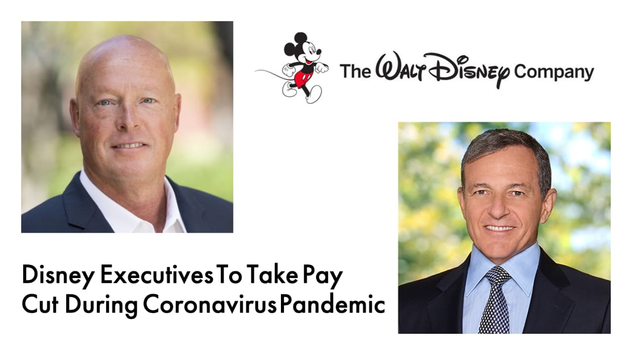 Disney Executives To Take Pay Cut During Coronavirus Pandemic