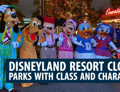 Disneyland Resort Closes Parks with Class and Character