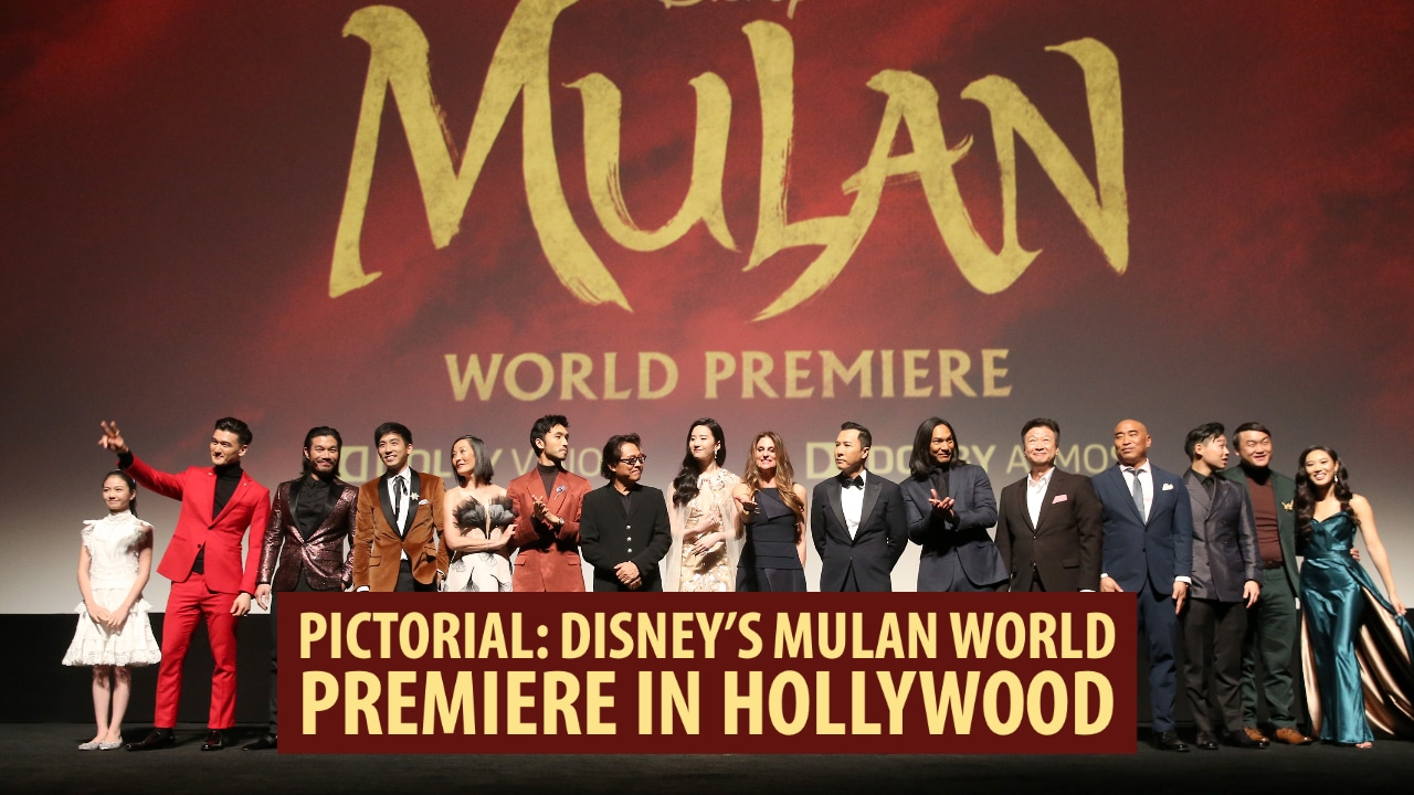 Pictorial: Disney's Mulan World Premiere in Hollywood