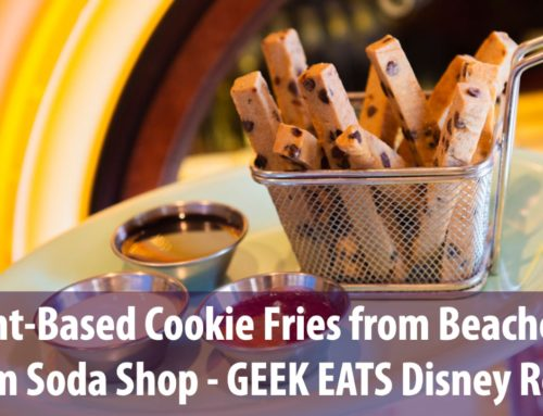 Plant-Based Cookie Fries from Beaches & Cream Soda Shop – GEEK EATS Disney Recipe