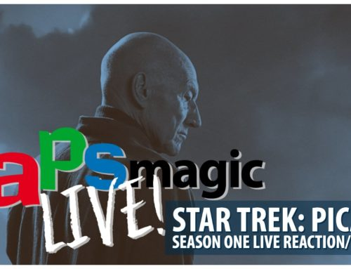 Star Trek: Picard Season One Live Reaction/Review – DAPS MAGIC Live