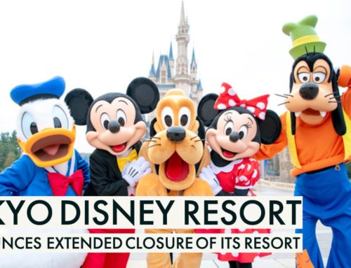Tokyo Disney Resort Announces Extended Closure of Its Resort