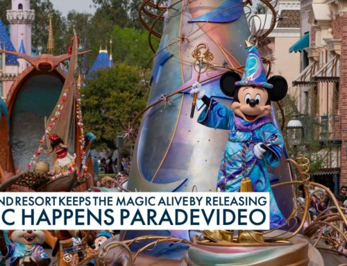 Disneyland Resort Keeps the Magic Alive by Releasing Magic Happens Parade Video