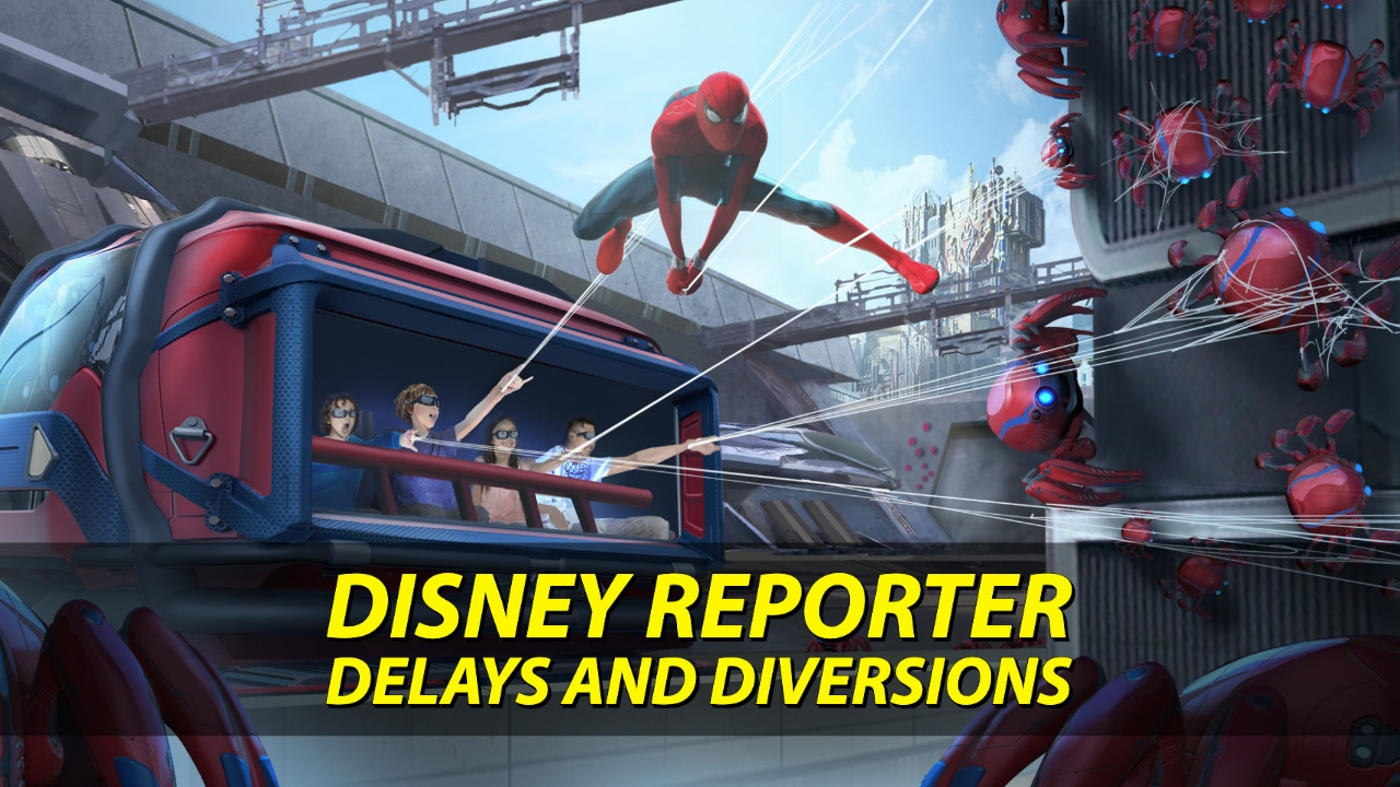 Delays and Diversions – DISNEY Reporter