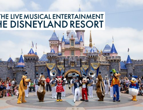 Enjoy the Live Musical Entertainment of the Disneyland Resort