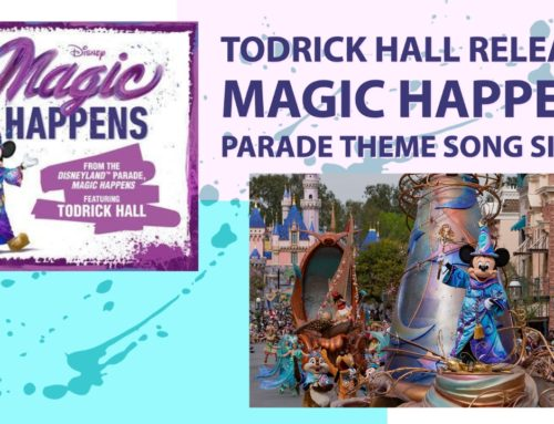 Todrick Hall Releases Magic Happens Parade Theme Song Single