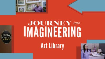 Dive into the Art Library at Walt Disney Imagineering in Final Virtual Tour