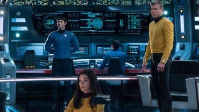 Captain Pike, Spock, and Enterprise Returning to CBS All Access in Star Trek: Strange New Worlds