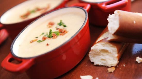 Canadian Cheddar Cheese Soup from Le Cellier Steakhouse at EPCOT - GEEK EATS Disney Recipes