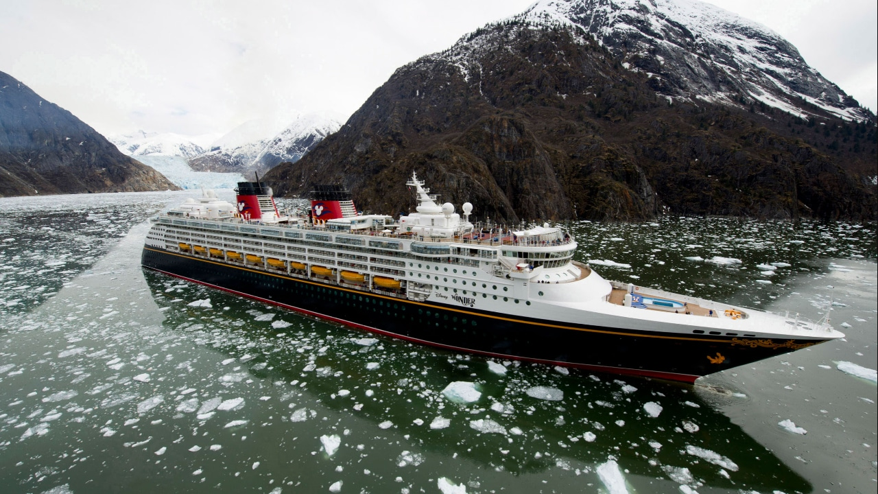 Disney Wonder in Alaska!