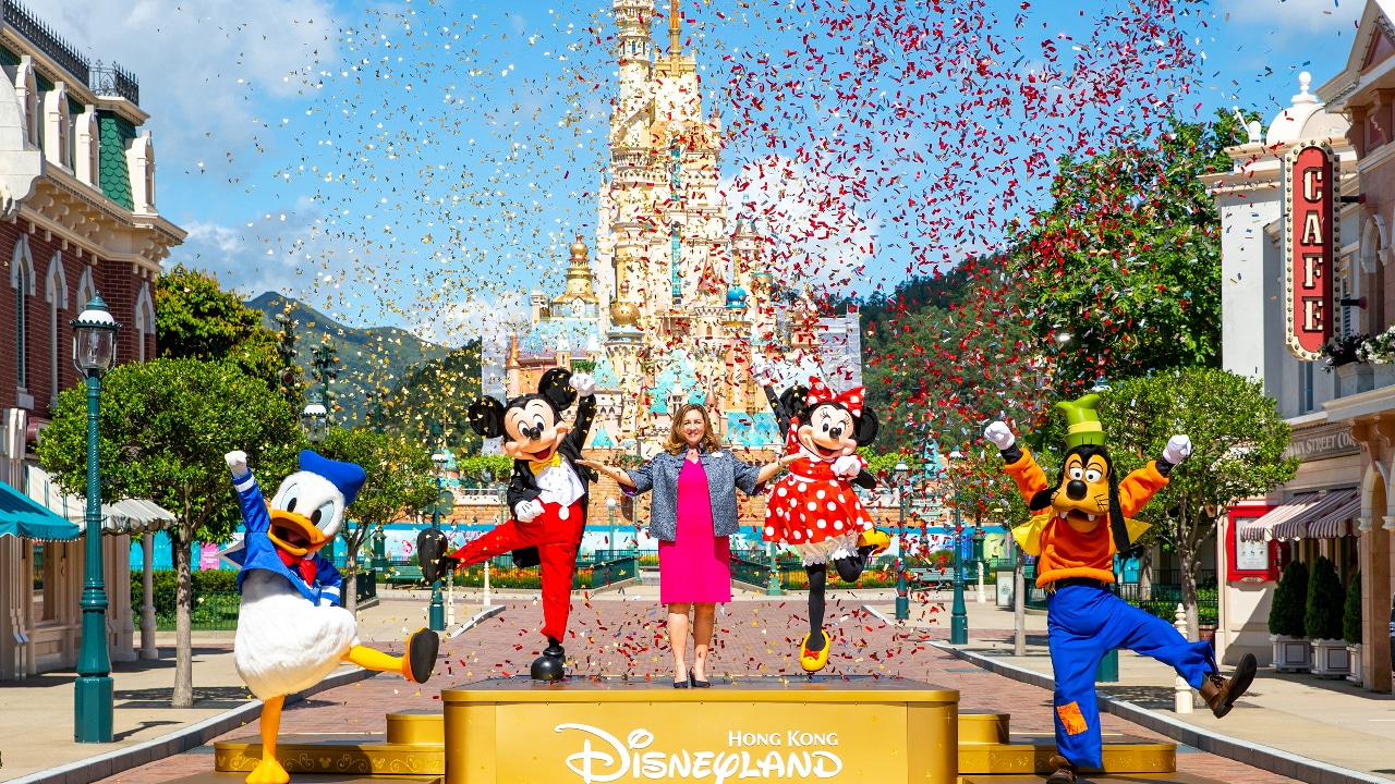 Hong Kong Disneyland Reopening Moment