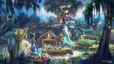 Splash Mountain to Be Rethemed to Princess and the Frog at Disneyland and Walt Disney World Resorts