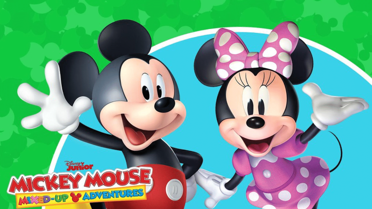 Kaitlyn Robrock Voicing Minnie Mouse In Mickey Mouse Mixed Up Adventures