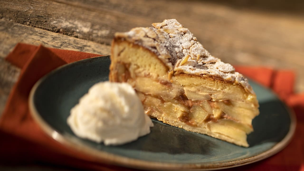 Apple Pie from Whispering Canyon Café at Disney's Wilderness Lodge