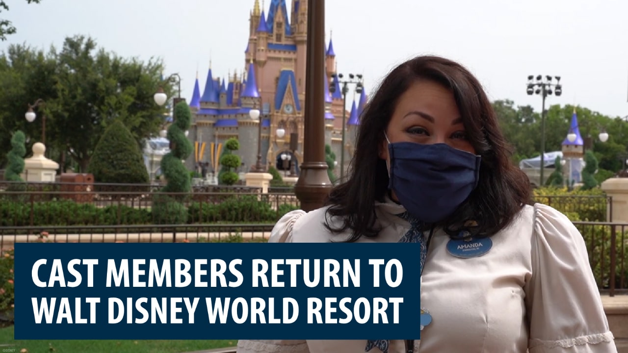 Cast Members Return to Walt Disney World Resort