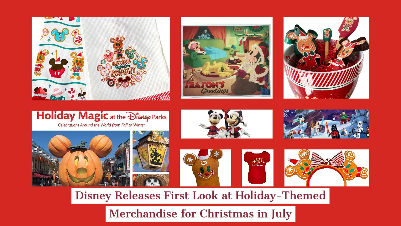 Disneyland Christmas Merchandise 2020 Disney Releases First Look at Holiday Themed Merchandise for