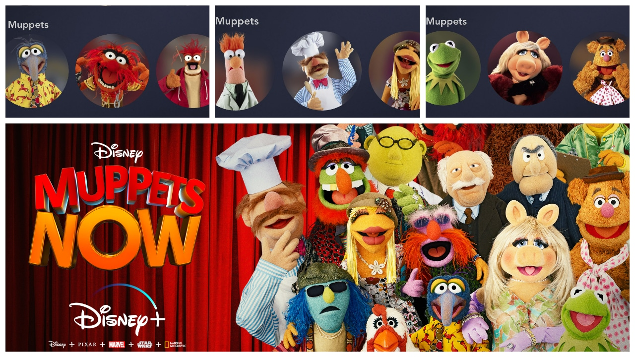 Disney+ Now Has Character Icons for The Muppets!