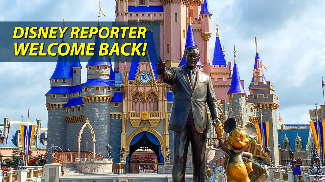 Welcome Back – DISNEY Reporter