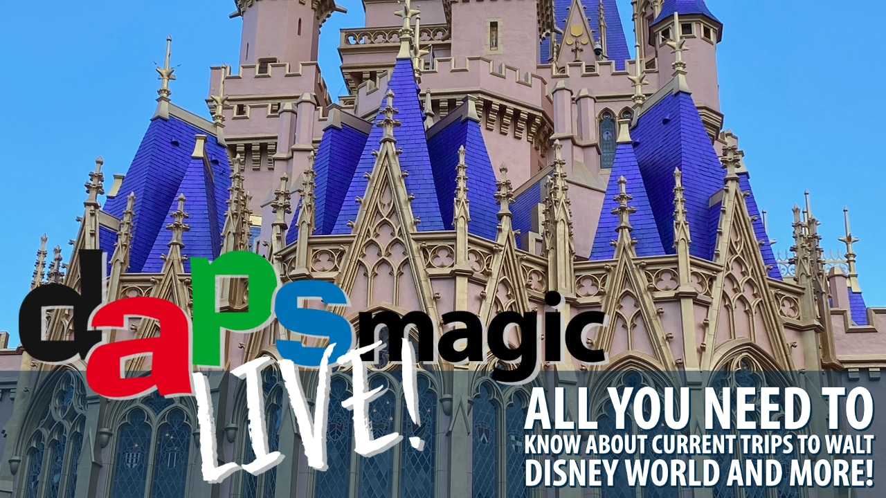 All You Need to Know About Current Trips to Walt Disney World And More! – DAPS MAGIC Live!