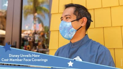 Disney Unveils New Face Coverings Made by Cast Members for Cast Members