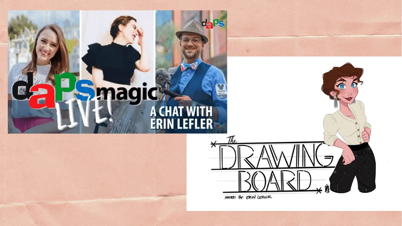 A Chat with Erin Lefler, Artist and Host of The Drawing Board