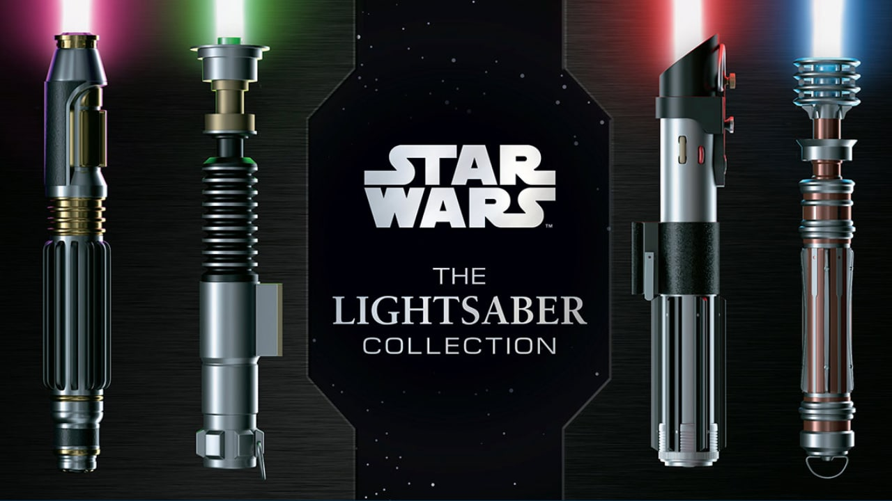 Learn About All The Lightsabers With Star Wars: The Lightsaber Collection