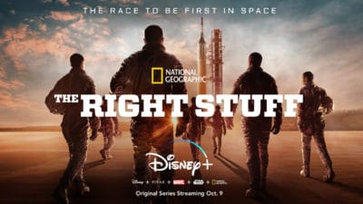 National Geographic's 'The Right Stuff' to Premiere on Disney+ on October 9