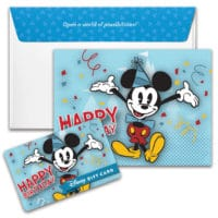Disney Gift Card - Mickey Mouse