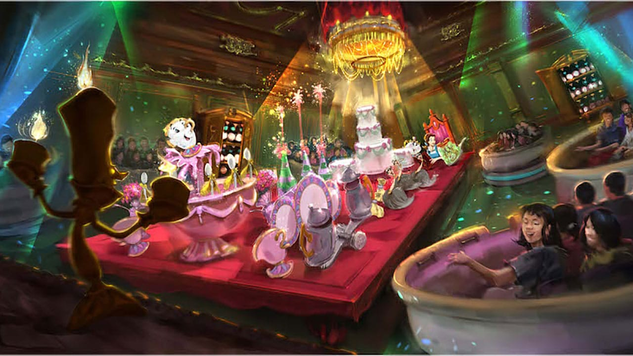 The Enchanted Tale of Beauty and the Beast Concept Art