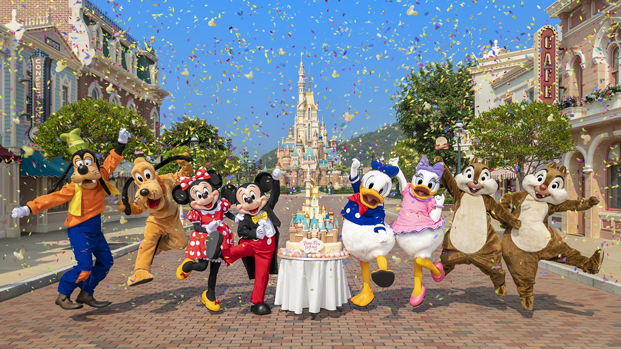 Hong Kong Disneyland 15th Birthday - Featured image