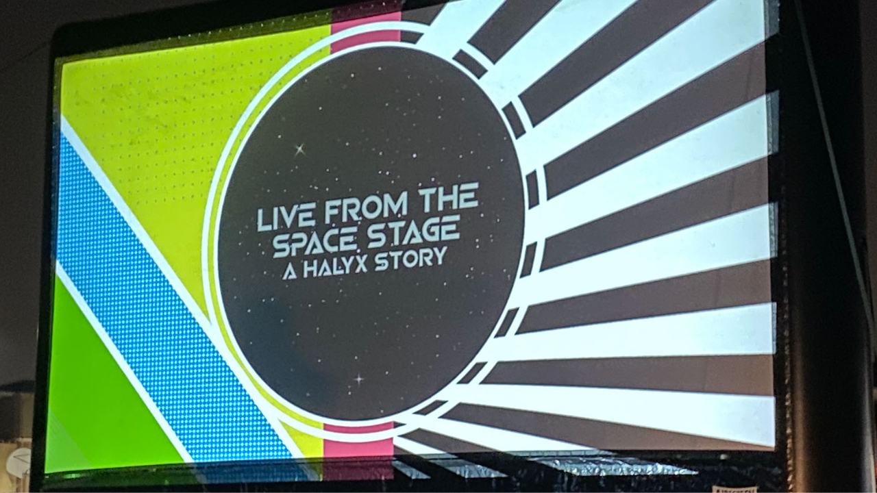 The World Premiere Drive-In Screening of Live From the Space Stage: A Haylx Story Hits a Homerun!