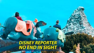 No End in Sight – DISNEY Reporter