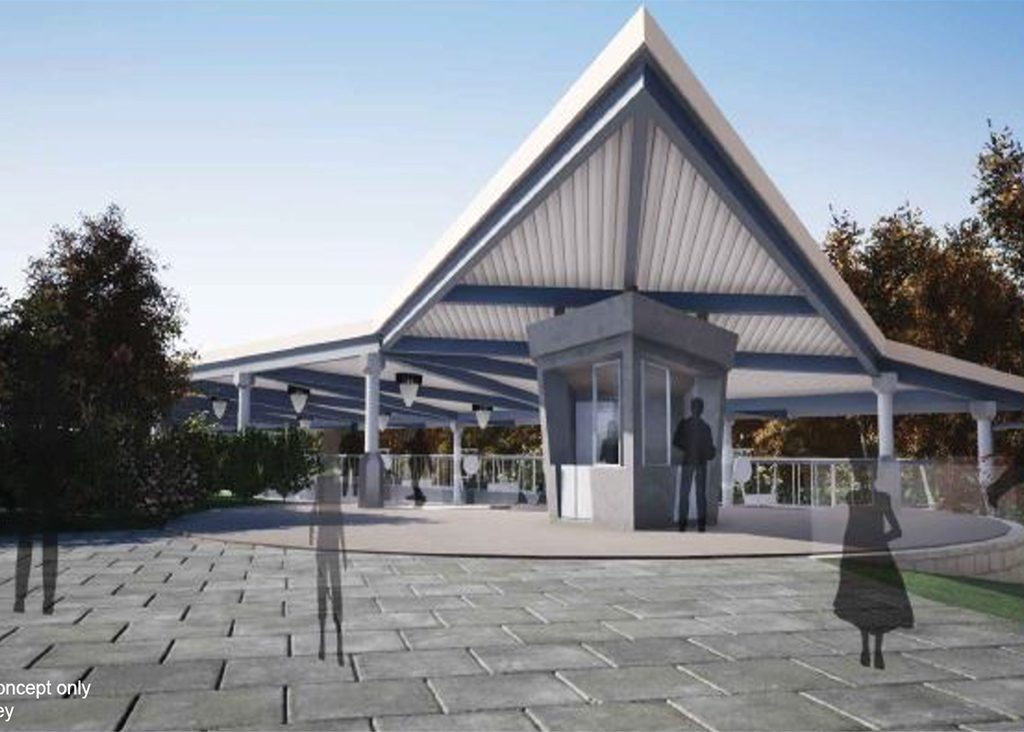 Cars Route 66 Road Trip Station Rendering