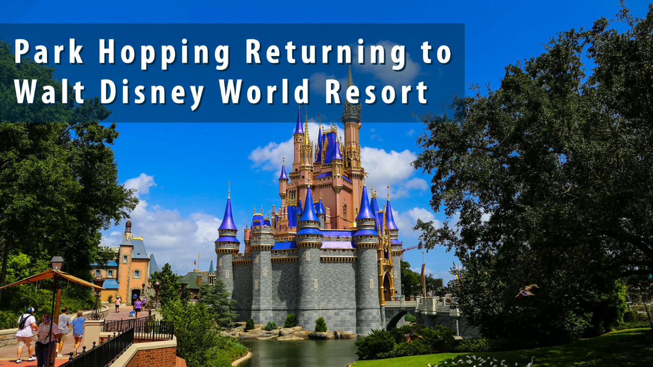 Park Hopping Returning to Walt Disney World Resort in January 2021