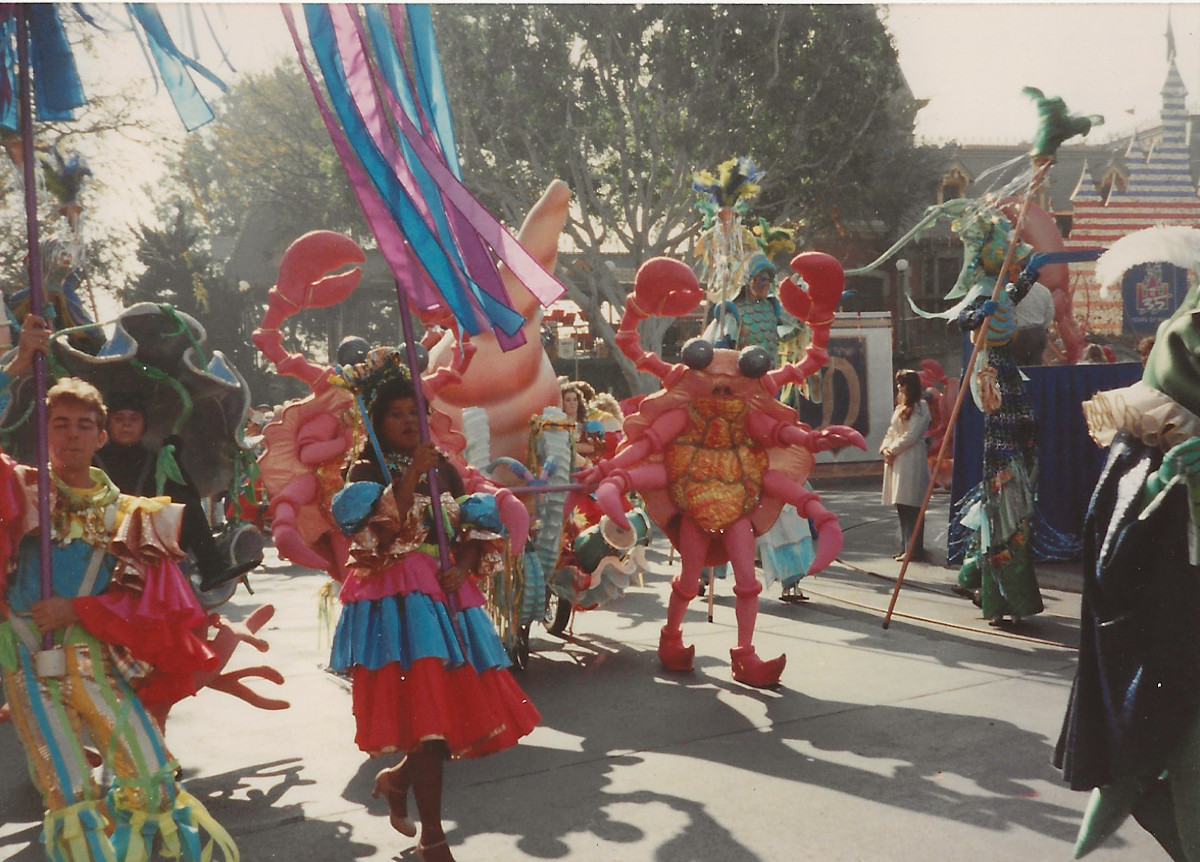 Costumes and street atmosphere performers were inspired by Carnival and Mardi Gras celebrations around the world.