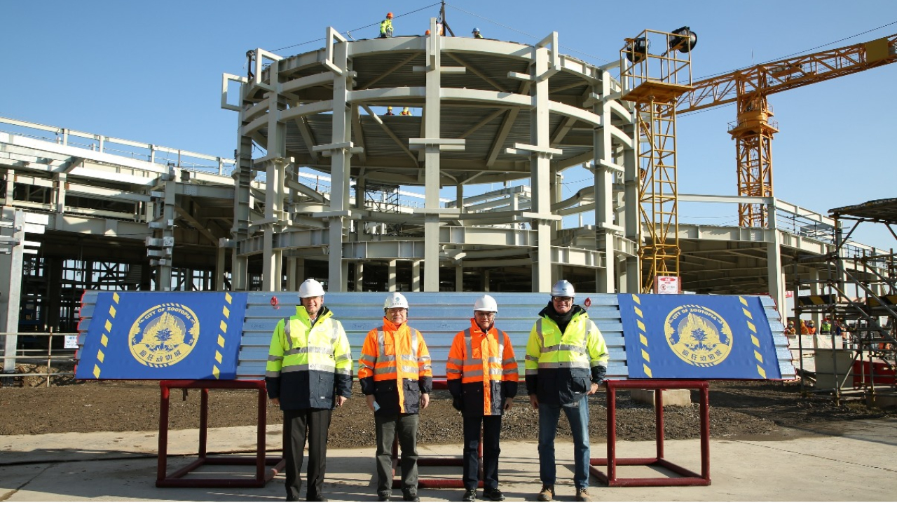 Zootopia Attraction at Shanghai Disneyland Reaches Milestone With Topping Out of Structure