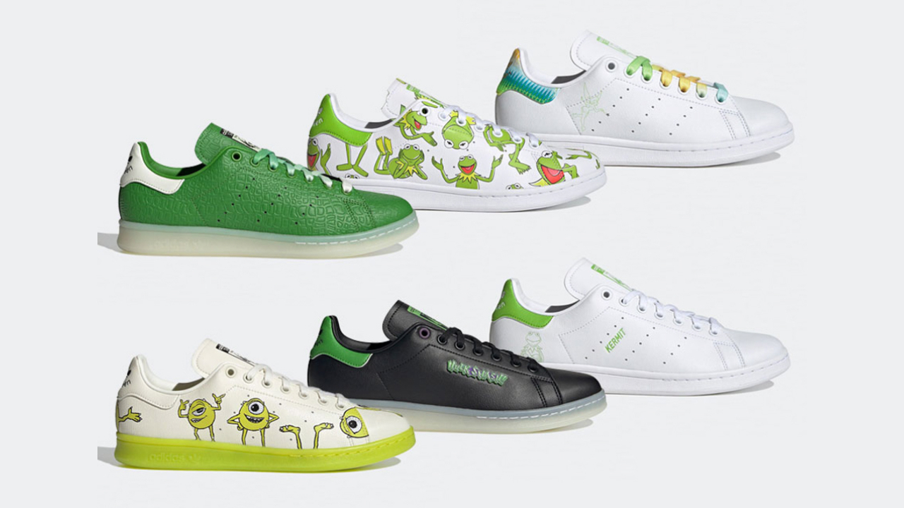 adidas Originals Using Green Characters from Disney and Marvel for New Collection