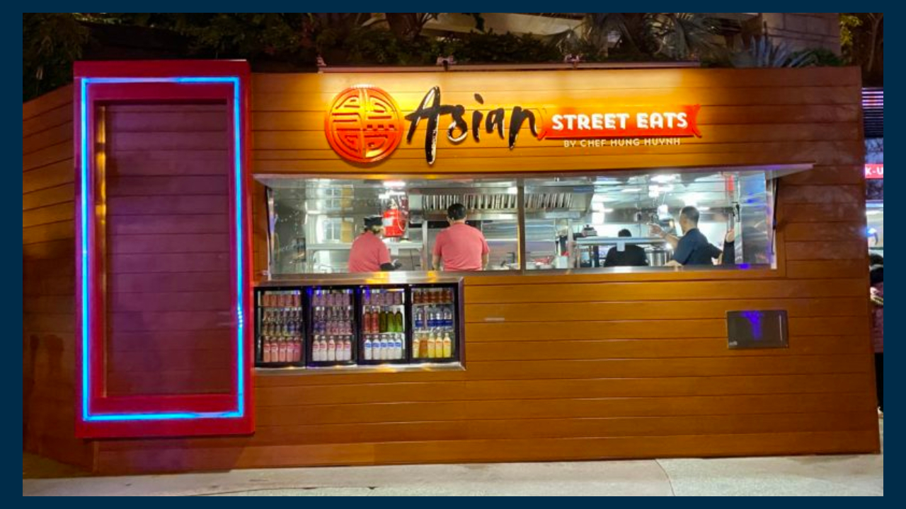 Asian Street Eats Removed from Downtown Disney District Listings as Location is Vacated