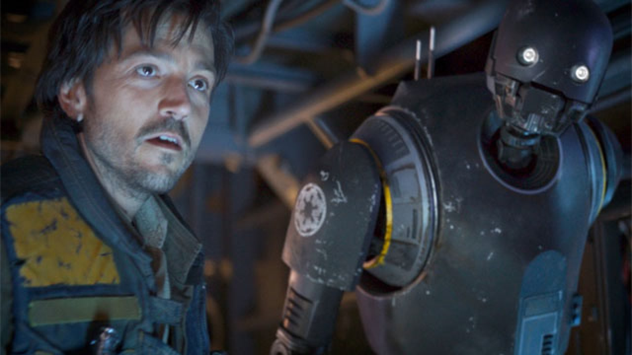 Cassian Andor and K-2S0