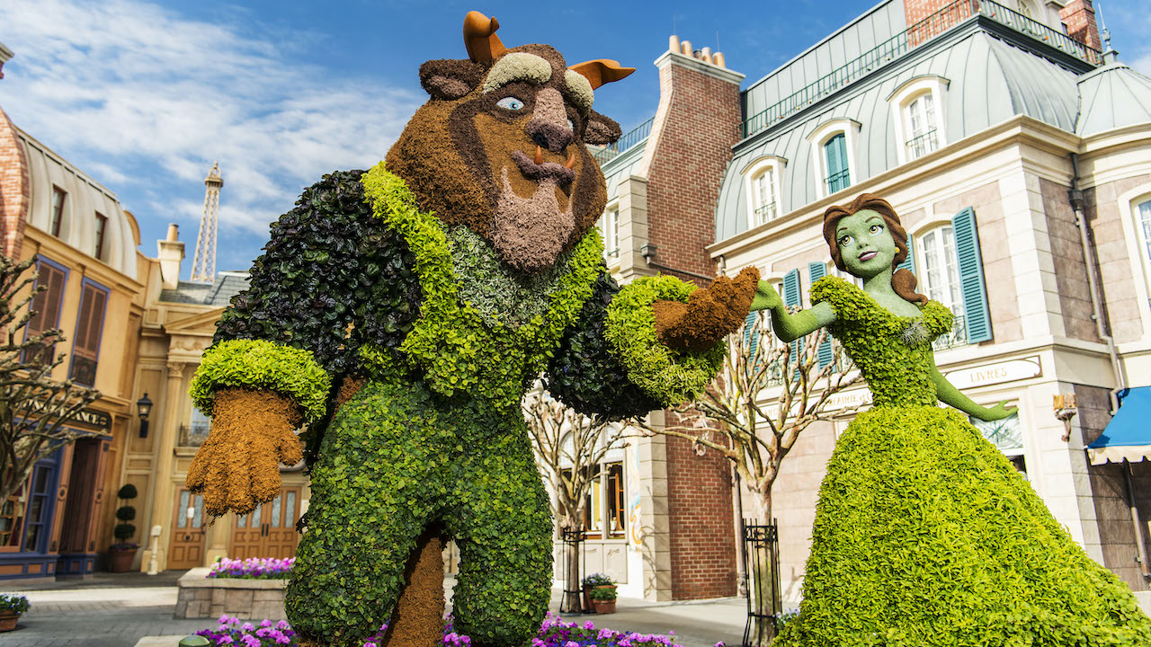 Disney Gives a Look at What's Coming for Taste of EPCOT International Flower & Garden Festival